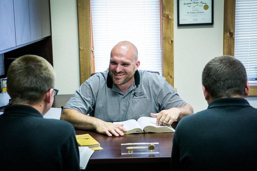 Inpatient behavioral therapy and discipleship