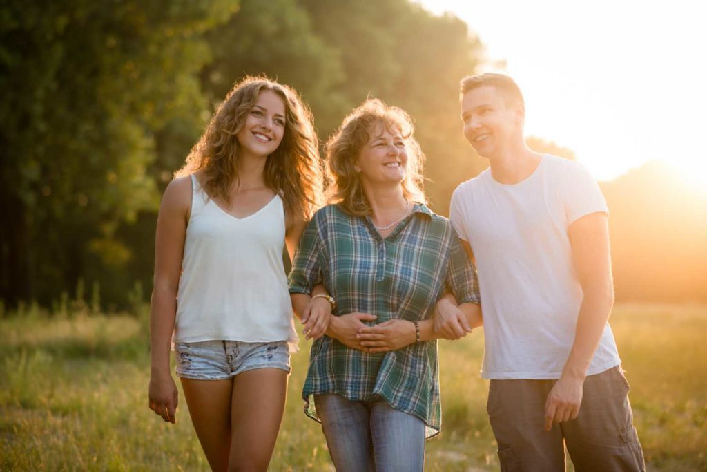 Family with Teen after Behavioral Therapy